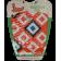 Коврик для вейксёрфа, сёрфа и скимборда задний Linkorskimboards Tail Pad, orange multi-coloured