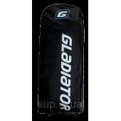 Сумка-рюкзак  SUP с колесами Gladiator Rolling Transportation Pro/Elit Bag, black, 2020