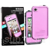 Аквапак Lifeproof fre Waterproof Protective Case For Apple iPhone 4/4S, pink