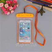 Гермочехол для телефона INIU IPX8 176мм х 106мм, orange