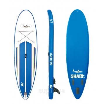 "SUP доска Shark All-Round Regular 10'0"" x 32'' x 6'', SAR-305, 2018"