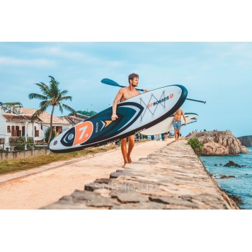 SUP доска D7 Boards 11'0'' x 32'' x 4.75'' Active (Wind) , 2019-3