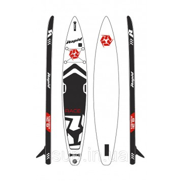 "SUP доска Rapid Race 12'6"" x 26'' x 6'', 2019"