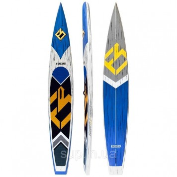 SUP доска Focus 12'6'' x 26'' Cali Turbo Race Carbon Paddle Board, ACT