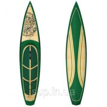 "SUP доска Focus 12'6"" Freedom Wood, VST"