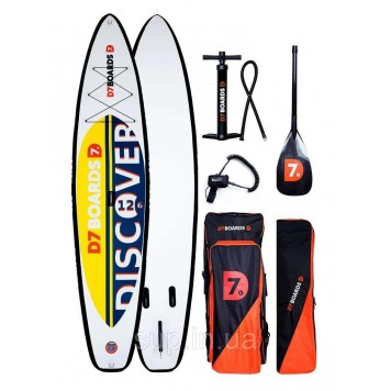 SUP доска D7 Boards 12'6'' x 32'' x 6'' Touring, 2019