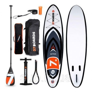 SUP доска D7 Boards 11'0'' x 32'' x 4.75'' Active (Wind) , 2019