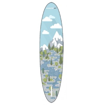 """SUP доска Gladiator FOREST 10'8"""" x 34'' x 6'', 26psi-3"""