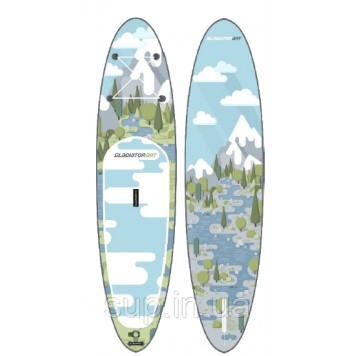 """SUP доска Gladiator FOREST 10'8"""" x 34'' x 6'', 26psi-4"""