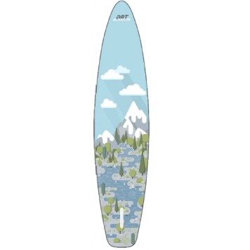 "SUP доска Gladiator FOREST 12'6"" x 31'' x 6'', 26psi-3"