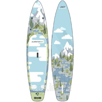 "SUP доска Gladiator FOREST 12'6"" x 31'' x 6'', 26psi-1"