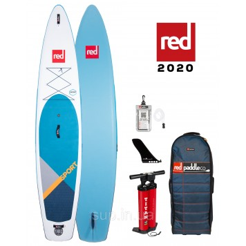 """SUP доска Red Paddle Co Sport 12'6"""" x 30"""", 2020"""