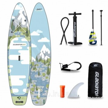 "SUP доска Gladiator FOREST 12'6"" x 31'' x 6'', 26psi"