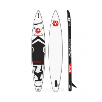 "SUP доска Rapid Race II 12'6"" x 26'' x 6'', 2020"