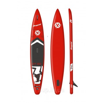 SUP доска Rapid GT20 14′ x 28'' x 6'' red, 2020