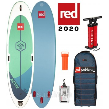 """SUP доска Red Paddle Co Ride 10'8"""" x 34'' Activ (yoga), 2020"""