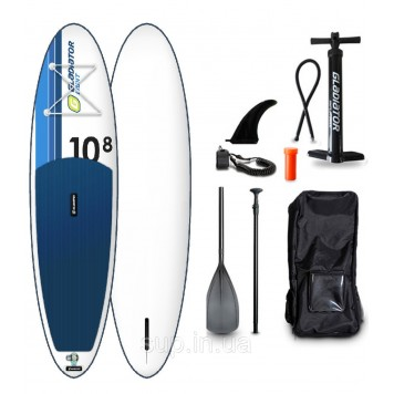 "SUP доска Gladiator LT 10'8"" x 34'' x 6'', 20psi"