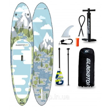 """SUP доска Gladiator FOREST 10'6"""" x 32'' x 4,75'', 26psi"""