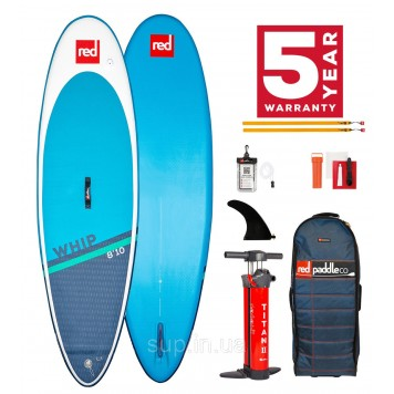 """SUP доска Red Paddle Co Whip 8'10"""" x 29'', 2021"""