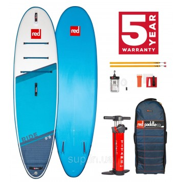 """SUP доска Red Paddle Co Ride 9'8"""" x 31'', 2021"""