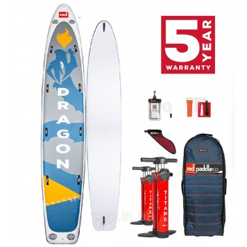 """SUP доска Red Paddle Co Dragon 22'0"""" x 34'', 2021"""