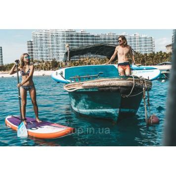 Весло для SUP Gladiator Carbon-Nylon 3pc Paddle, 2019-9